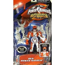 Power Rangers Operation Overdrive Red Ranger