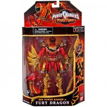 Red Mystic Ranger Phoenix Dragon Action Figure