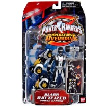 Power Rangers Operation Overdrive Black Ranger GIG