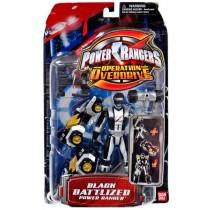 Power Rangers Operation Overdrive Black Ranger GIG