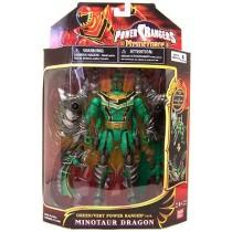Green Mystic Ranger Minotaur Dragon