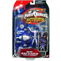 Power Ranger Operation Overdrive blue Ranger