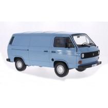Vw T3 Box Wagon 1979 Light Blue 1:18