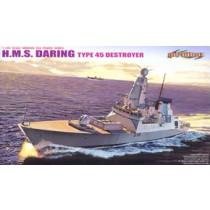 Present Royal Navy Type 45 Destroyer `Daring`