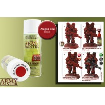 Army P Primer red dragon CP3018