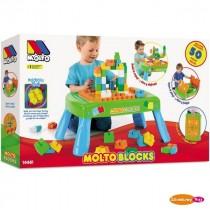 Molto Blocks - tavolino include 50 pezzi