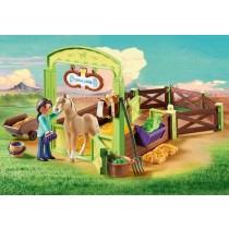 Playmobil pru e la stalla di Chica Linda 9479