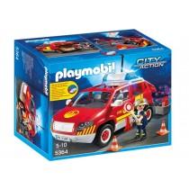 Auto del caposquadra dei Vigili del fuoco Playmobil