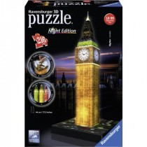 Puzzle 3D Big Ben London Night Edition