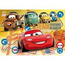 Puzzle Maxi Supercolor Team Lighning Mcqueen