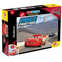 Maxi Puzzle Double-Face Cars Lisciani