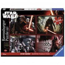 Star Wars set 4 Puzzle Episode VII Ravensburger