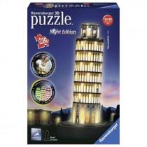 Puzzle 3D Ravensburger Pisa Night Edition