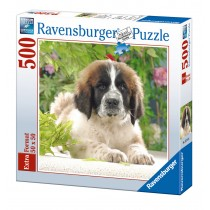 Ravensburger Puzzle Cucciolo di San Bernardo