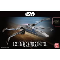 Resistance X-wing fighter