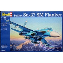 Sukhoi Su-27 SM Flanker Plastic Model Kit