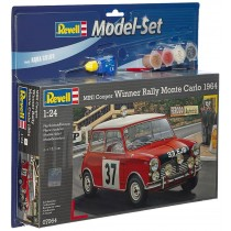 Model set Mini Cooper Winner Rally Monte Revell