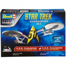 Star Trek Anniversary Set U.S.S. Enterprise (Star Trek: The Original Series) + U.S.S. Enterprise (Star Trek Into Darkness)