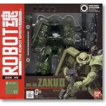 Robot Spirits Gundam MS06 Zaku II R097