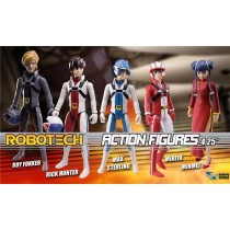 Robotech Poseable Action Figure set 5