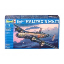 Handley Page Halifax Mk. III Plastic Model Kit