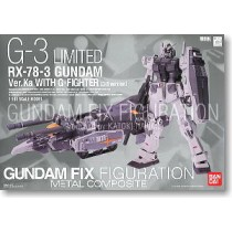 Metal Composite RX-78-3 Gundam Ver.Ka w/G-Fighter (G-3 Ver.)