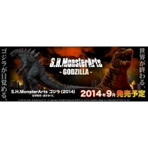 S.H.MonstertArts Godzilla 2014 by Bandai