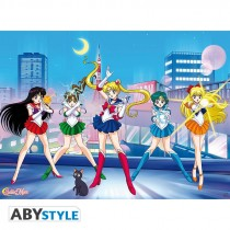 "SAILOR MOON - Poster ""Sailor guerrières"" (52x38)"