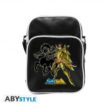 "SAINT SEIYA - Messenger Bag ""Sagittarius"" - Vynile Small Size - Hook"