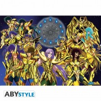"SAINT SEIYA - Poster ""Gold Saints 1"" (98x68)"