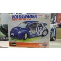 Volkswagen New Beetle cup Metal kit Burago