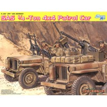 SAS 1/4-Ton 4x4 Patrol Car with Crew