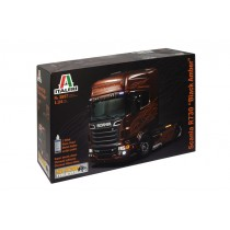 Scania R730 black amber