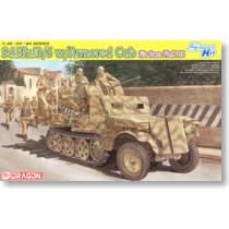 Sd.Kfz.10/5 w/Armor Cab, für 2cm FlaK 38