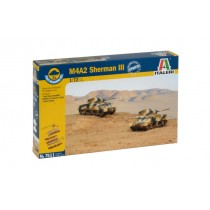 M4A2 Sherman III fast assembly