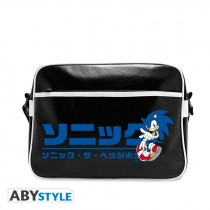 """SONIC - Messenger Bag """"Japanese logo"""" - Vinyle"""