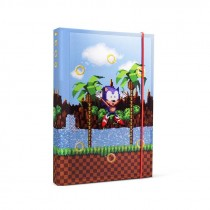 Sonic The Hedgehog A5 Notebook Rings