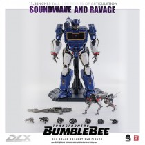 Soundwave and Ravage DLX Action Figure