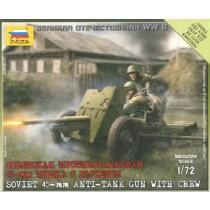 Soviet 45mm AA Gun