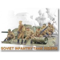 Soviet Tank Boarding Infantryman