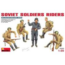 Soviet Soldiers Riders