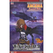 Space Pirate Battle Ship Arcadia 2nd Warship (New Comic Ver.) by Hasegawa