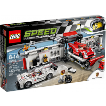 Speed Champions Porshe 919 Hybrid and 917K Pit Lane