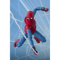 Spider-man Home Suit + wall SH Figuarts Bandai