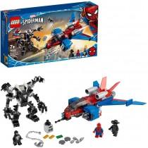 Spiderjet vs. Mech Venom 76150