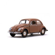 Vw Beetle 1949 Saloon Brown 1:12