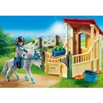 Stalla con cavallo Appaloosa Playmobil 6935