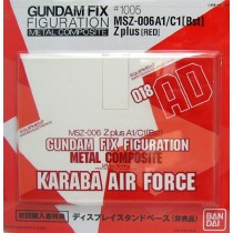 Gundam Metal composite MSZ-006A1/C1 Z Plus Karaba Air Force Stand