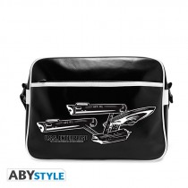 "STAR TREK - Messenger Bag ""U.S.S Enterprise"" - Vinyle"