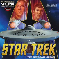 Star Trek Tos Enterprise 50th ED Model kit
